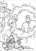 kids n fun 62 coloring pages of incredibles