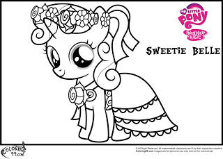 mlp sweetie belle coloring pages minister coloring