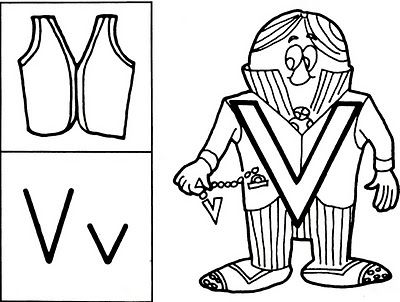mr v violet velvet vest letter people people coloring