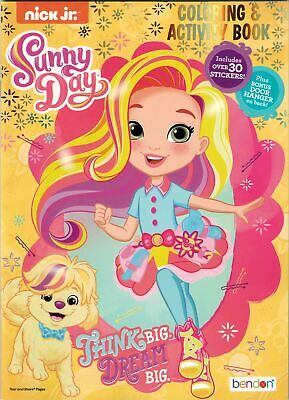 new sunny day 32 page coloring and activity book with