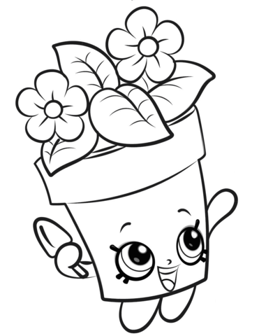 peta plant shopkin coloring page free printable coloring