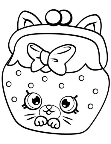 petkins cat snout shopkin mlarbok desenhos desenhos