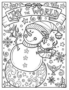 pin sue zipkin on coloring for adults christmas