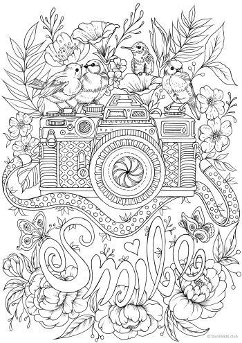 smile bird coloring pages fairy coloring pages adult