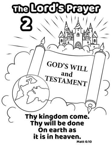 thy kingdom come thy will be done on earth as it is in