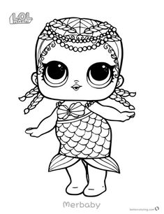 treasure from lol surprise doll coloring pages printable