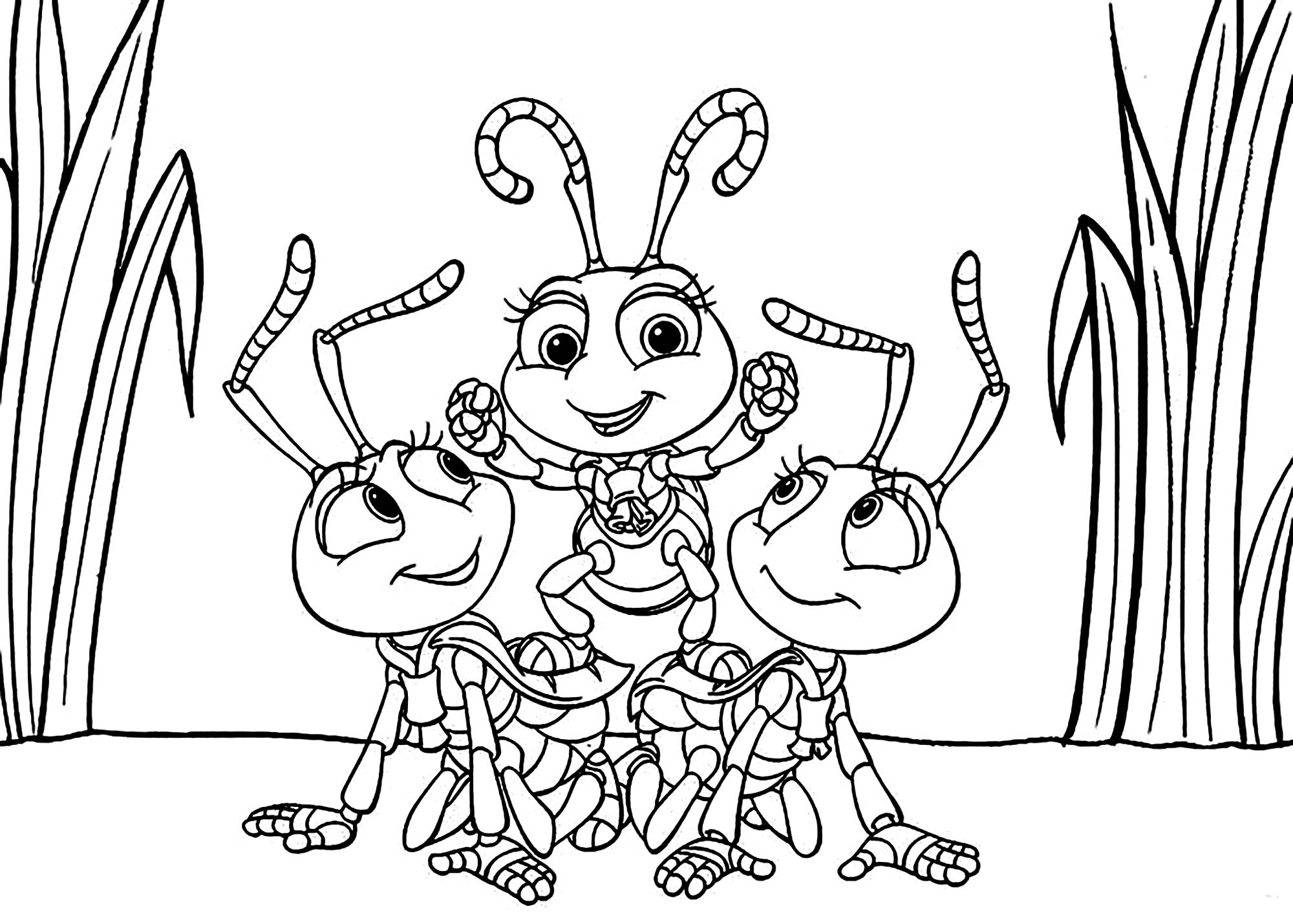 a bugs life to print for free a bugs life kids coloring