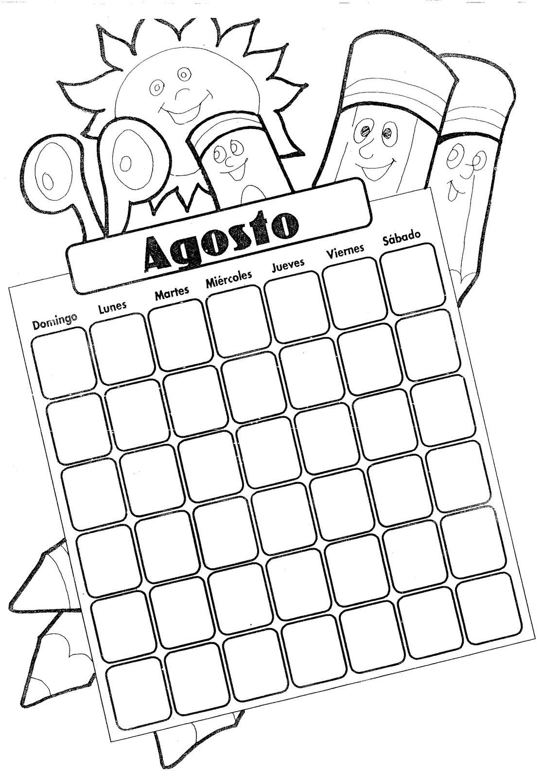 august free coloring pages coloring pages