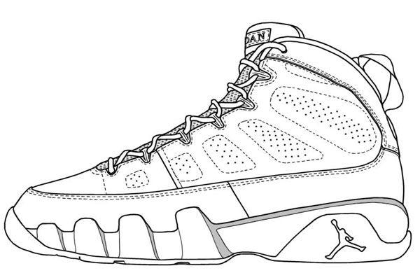 basketball coloring pages like jordan of a possible