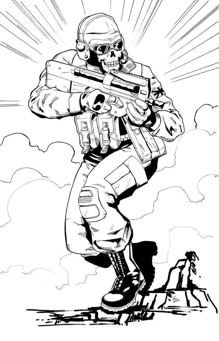 call of duty ausmalbilder zum ausdrucken coloring pages