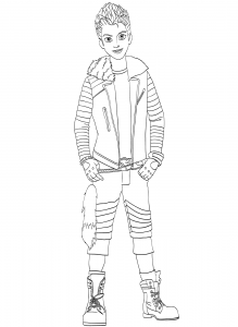 carlos coloring page descendants coloring pages