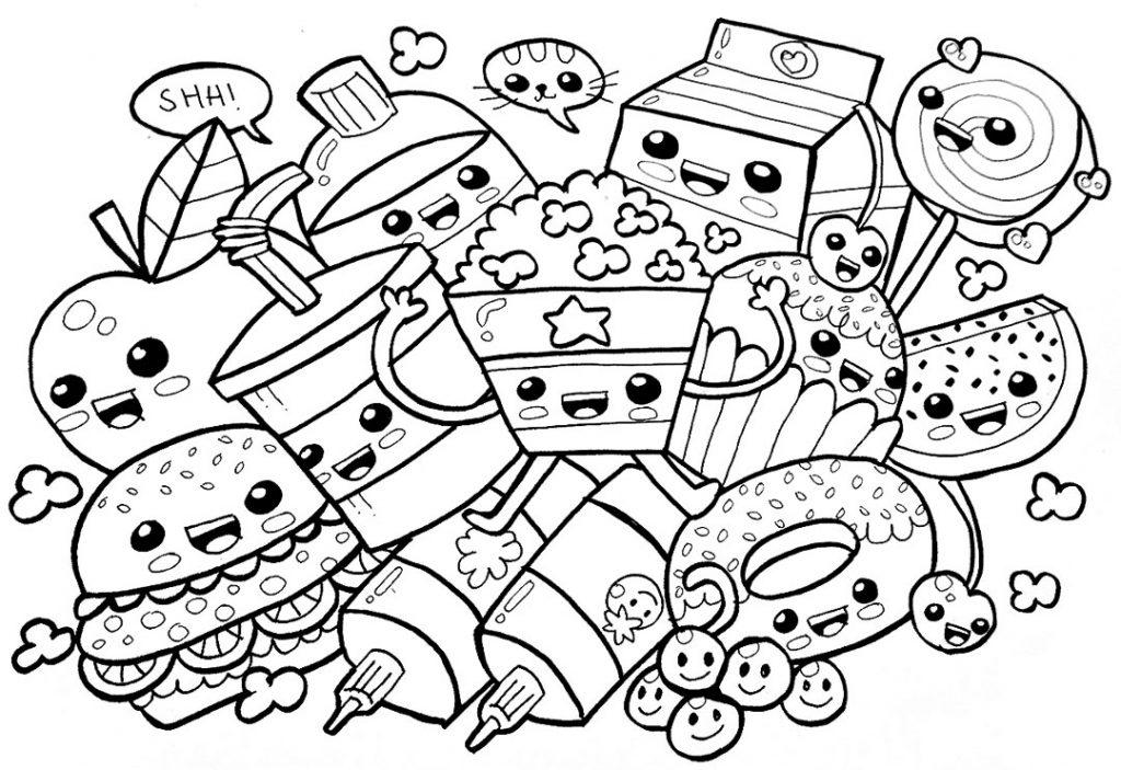 food coloring pages coloringrocks