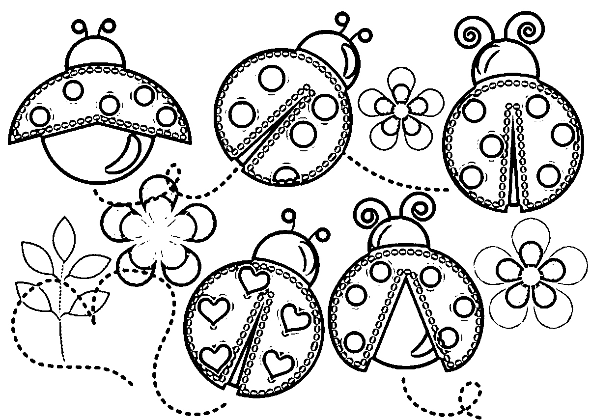 free ladybug coloring pages at getcolorings free