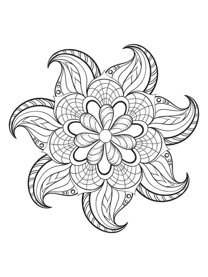 free mindfulness coloring page