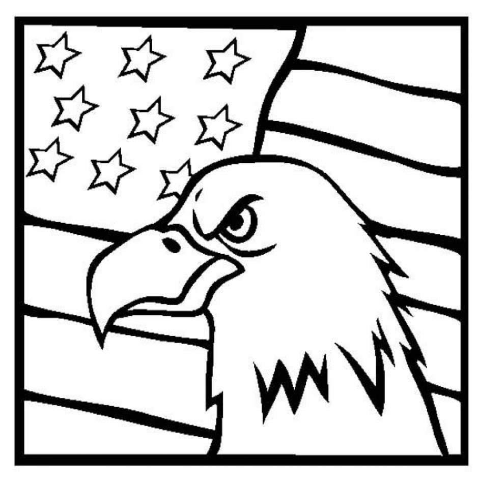get this american flag coloring pages to print for kids