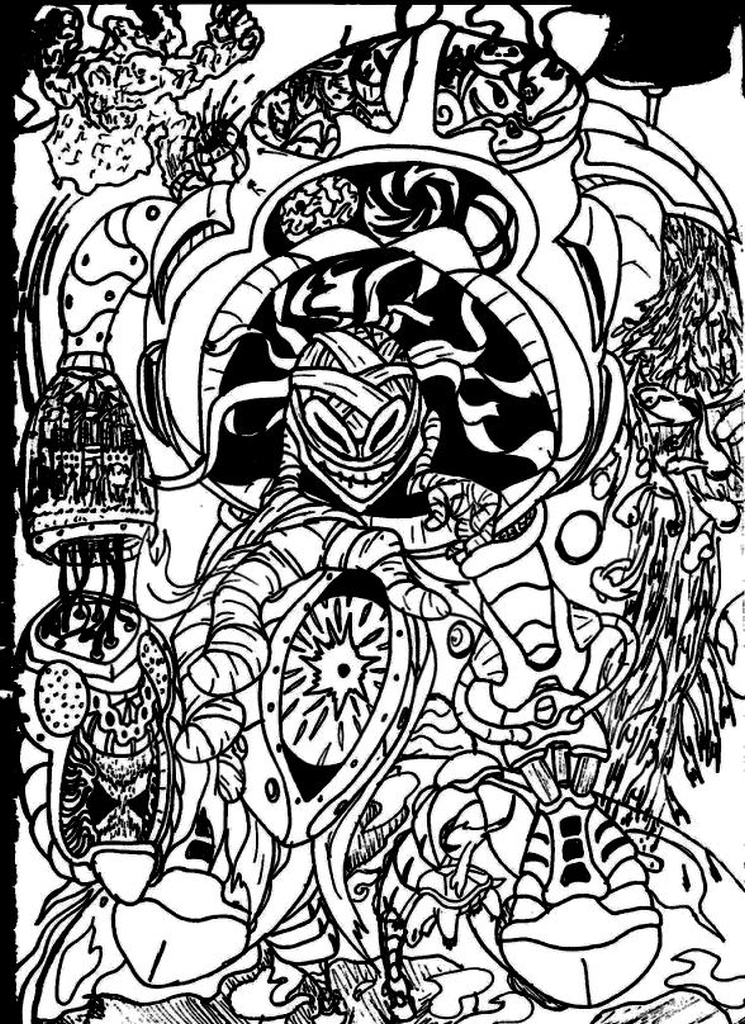 get this hard trippy coloring pages free for adults gts81