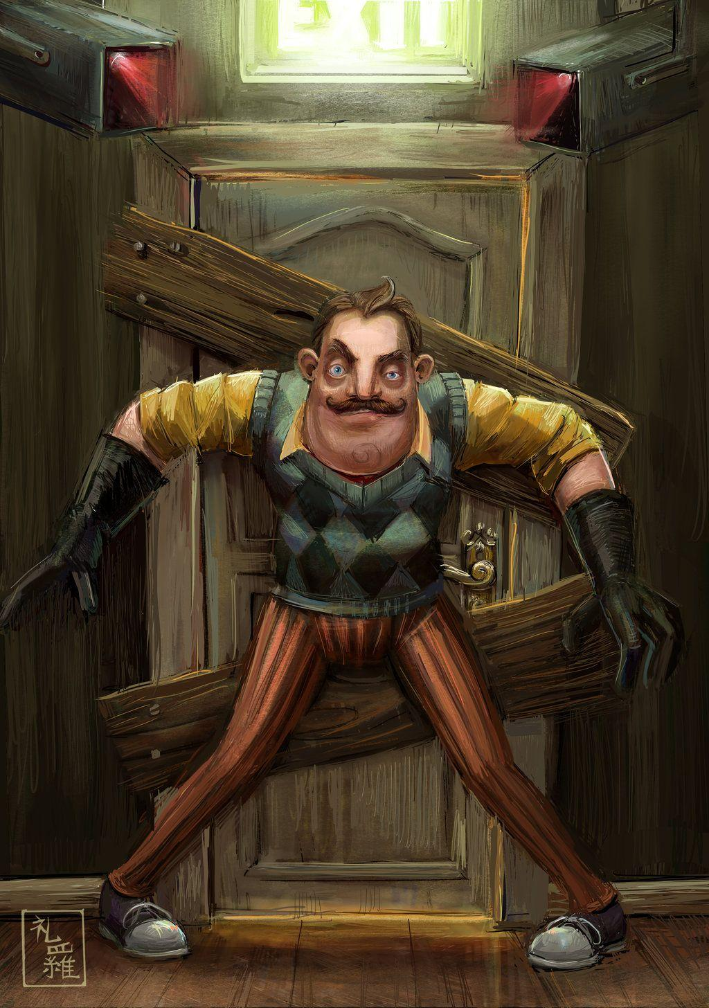 hello neighbor wallpapers wallpaper cave
