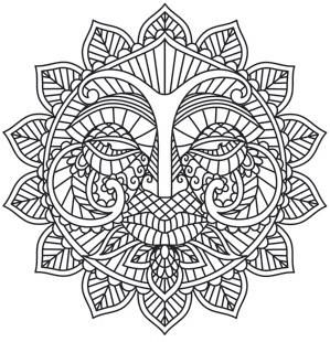 Sun And Moon Coloring Pages Pictures Whitesbelfast