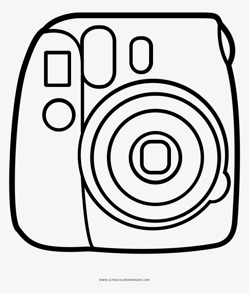 instax mini camera coloring page 1000x1000 png download