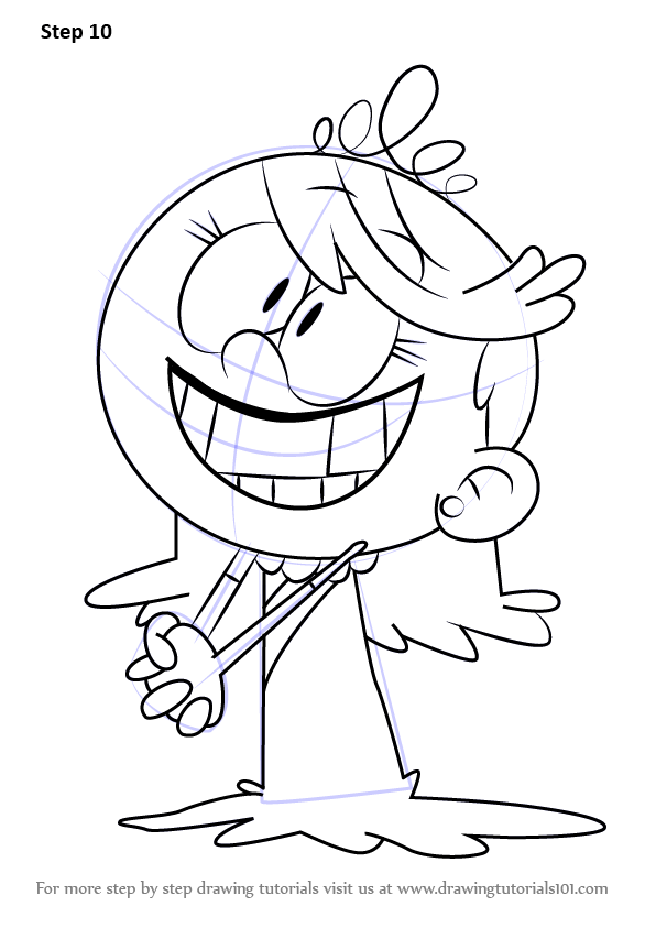 learn how to draw lola loud from the loud house the loud