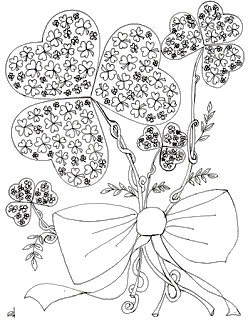 make it easy crafts st patricks day free coloring page
