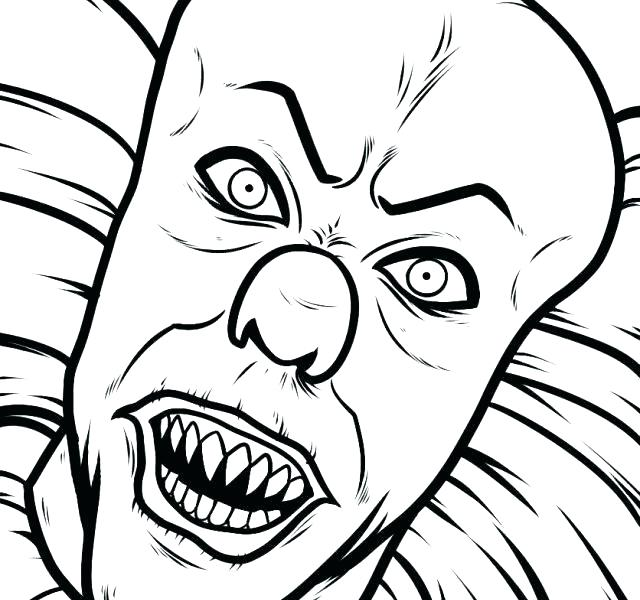 pennywise drawing free download on clipartmag