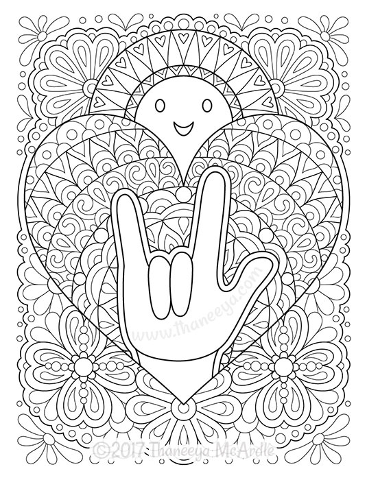 power of love coloring book thaneeya mcardle thaneeya