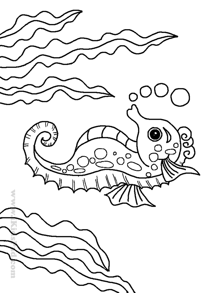sea plants coloring pages gallery coloring for kids 2019