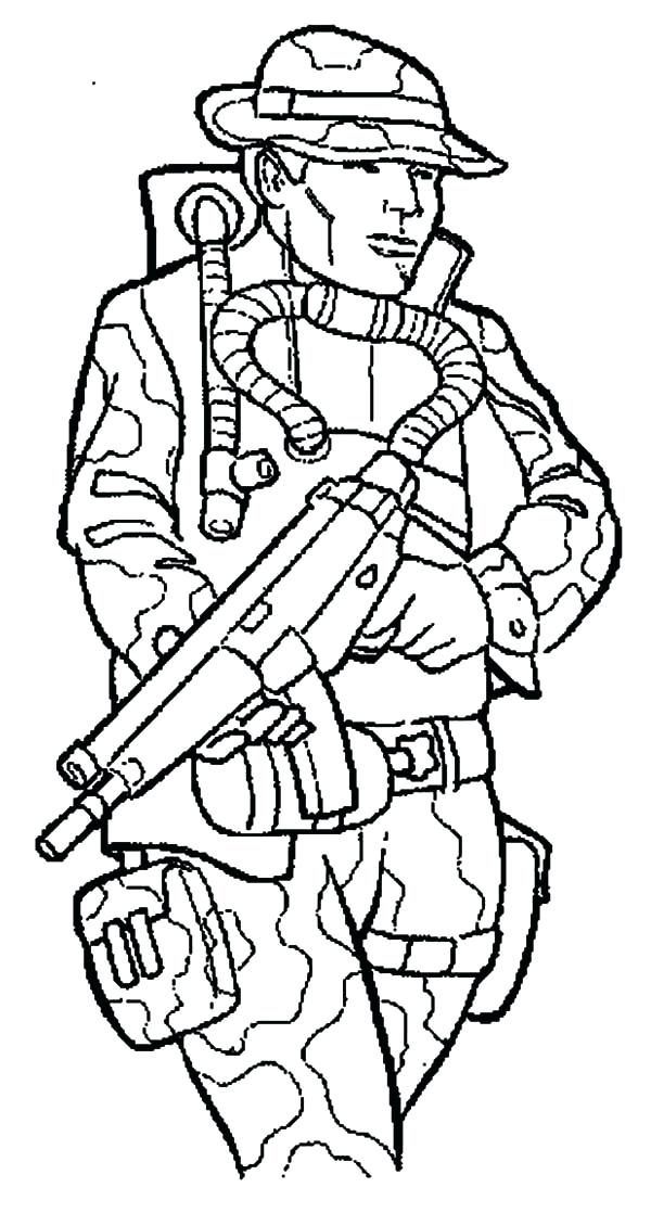 soldier coloring pages to print at getcolorings free