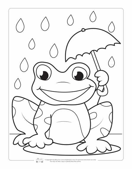 spring coloring pages for kids itsybitsyfun