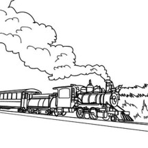 steam train netart