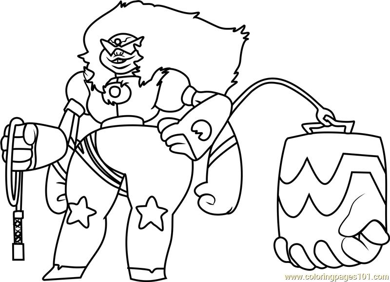 sugilite steven universe coloring page free steven