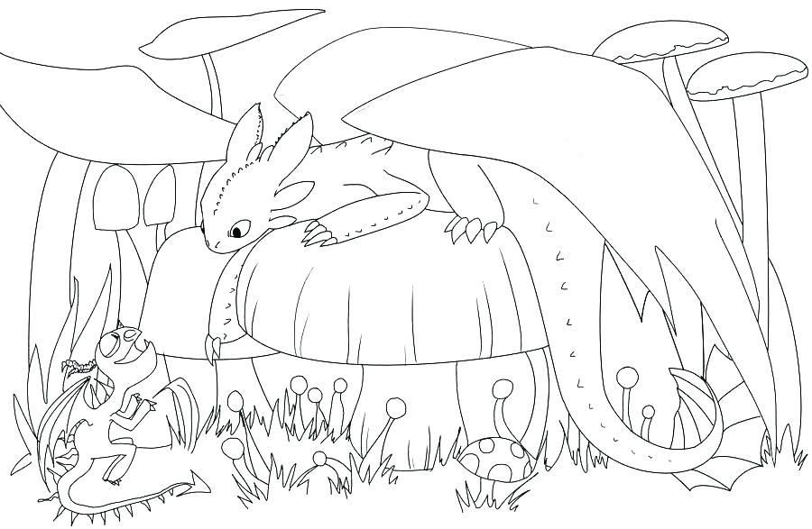 toothless coloring pages at getcolorings free