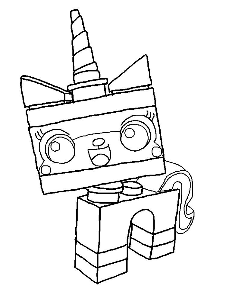 Unikitty Coloring Pages Collection Whitesbelfast