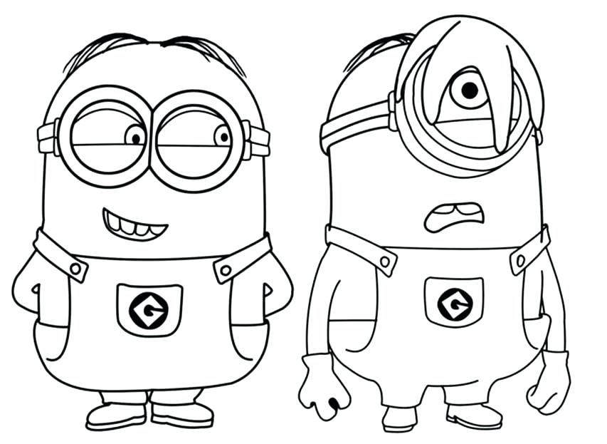 halloween minion coloring pages at getdrawings free download