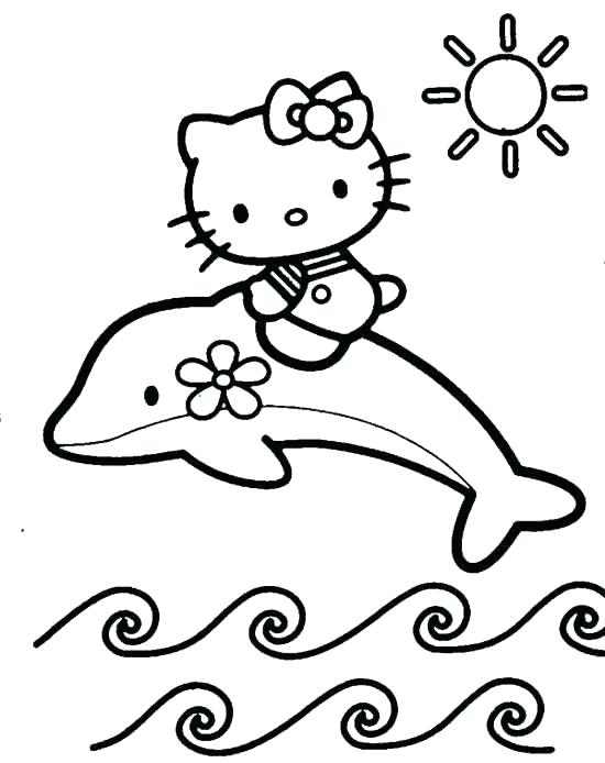 hello kitty halloween coloring pages to print at