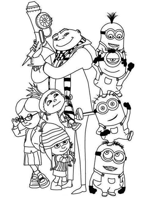 minion printable coloring pages minions 37 animation