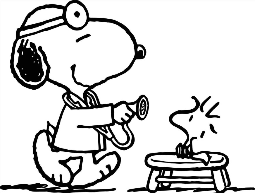 snoopy and woodstock coloring pages at getdrawings free
