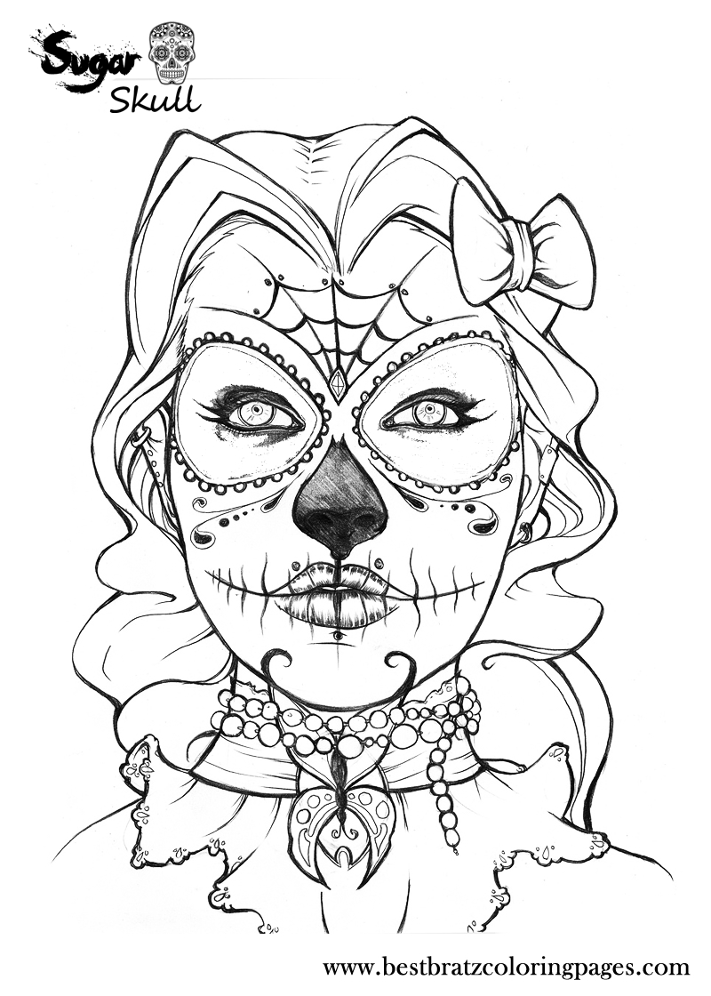 sugar skull owl coloring pages at getcolorings free