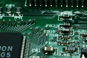 printed circuit board, print plate, via