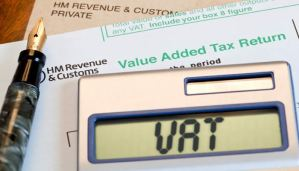 VAT returns in sage