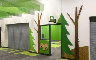 Classroom Entry Signs and 3D Wall Coverings. Midlothian, TX
