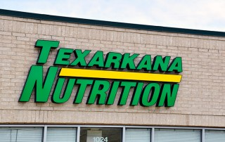 Texarkana Nutrition Building Sign. Texarkana, AR