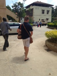Colton carrying our bags when they got too heavy for us...he is the best!