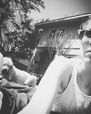 Enjoying the Oklahoma sunshine