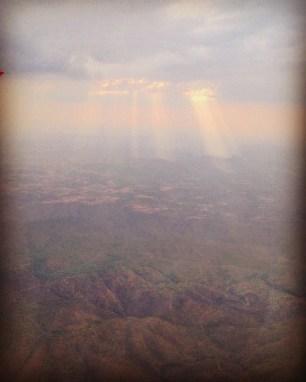 Flying to Mbeya