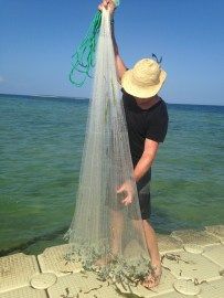 Cast net in Dar