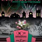 90th Shenandoah Apple Blossom Festival theme program cover