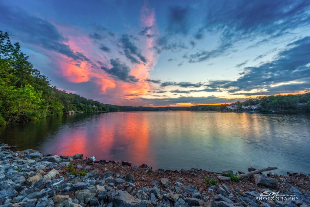 Lake Holiday Sunset