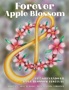 93rd Shenandoah Apple Blossom Festival Theme Cover